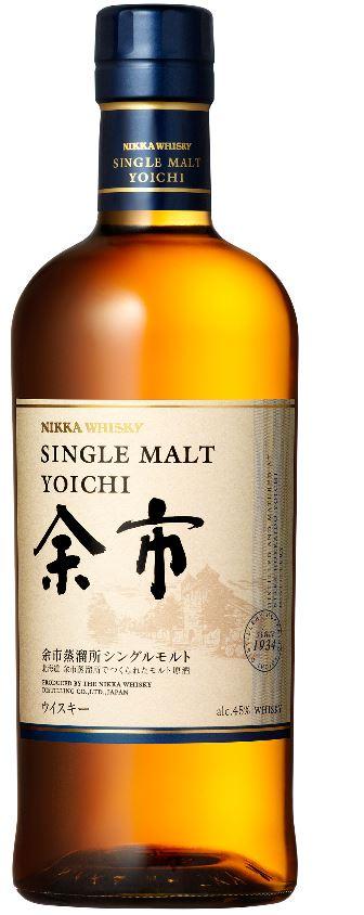 ニッカウイスキー シングルモルト 余市 700ml/アサヒビール/日本ウイスキー/ 国産ウイスキー/ジャパニーズ/よいち/ヨイチ