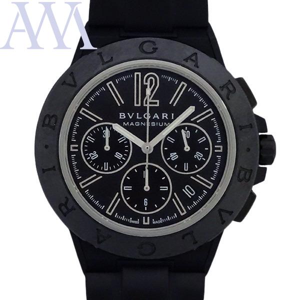 BVLGARI ブルガリ ディアゴノ マグネシウム クロノグラフ 新商品 DG42BSMCVDCH 通信販売 メンズ 腕時計 美品中古