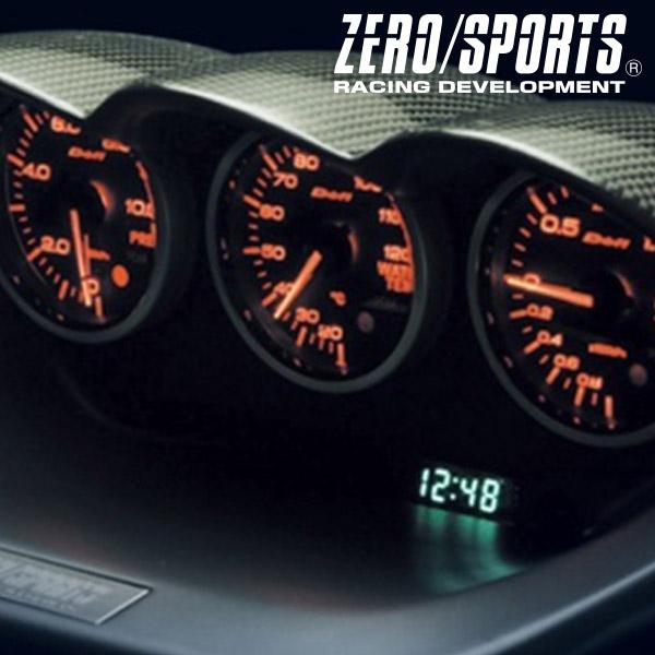 ZERO/SPORTS / ゼロスポーツ カーボントリプルメーターフード インプレッサ GD#/GG# 品番:0930004