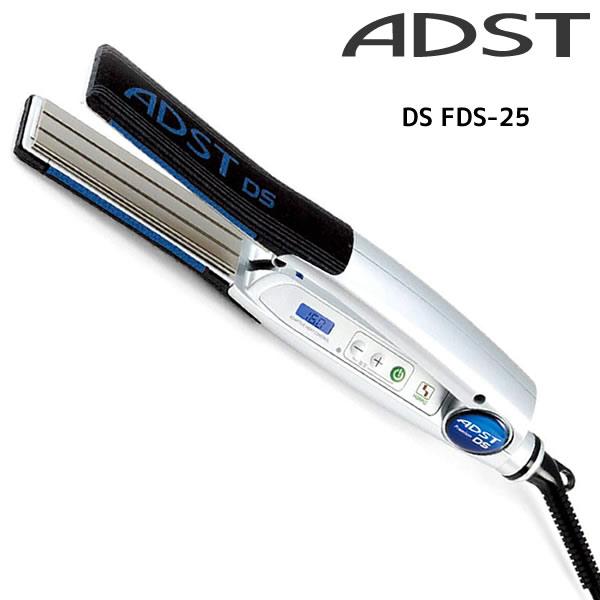 【送料無料】アドストDS FDS-25 フラットアイロン バイコートS 25mm(シルバー)60℃-180℃ ADST アドスト アイロン