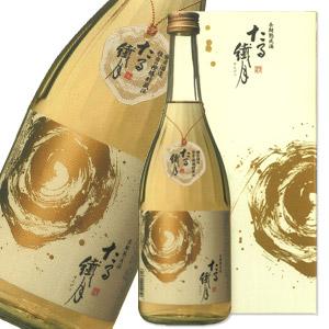12本毎に送料無料(北海道・沖縄・東北・離島除く)球磨焼酎 琥珀色に輝く芸術品 たる繊月(箱入)長期貯蔵 熟成酒 720ml