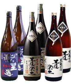 紫王道 & 古酒王道 & 王道楽土 セット 【各1800mlを2本 合計6本セット】
