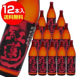 紅蓮 頴娃紫 芋焼酎 900ml 12本入