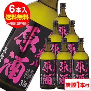 さつま黒八 原酒 芋焼酎37°720ml×6本(炭酸1本付)