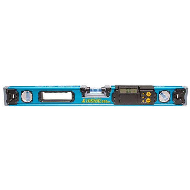 【送料無料】【シンワ測定】ブルーレベル デジタル600mm 76326(水平器 シンワ測定,水平器 レベル)
