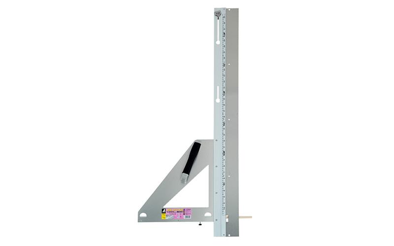 【シンワ測定】エルアングル補助板付 1m併用目盛付 77901 丸ノコガイド定規
