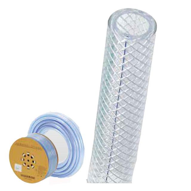 産業用・特殊ホース 耐圧テトロンブレードホース50×62-40m(コイル巻き)(継手 ホース/ホース 耐圧/ゴム ホース)