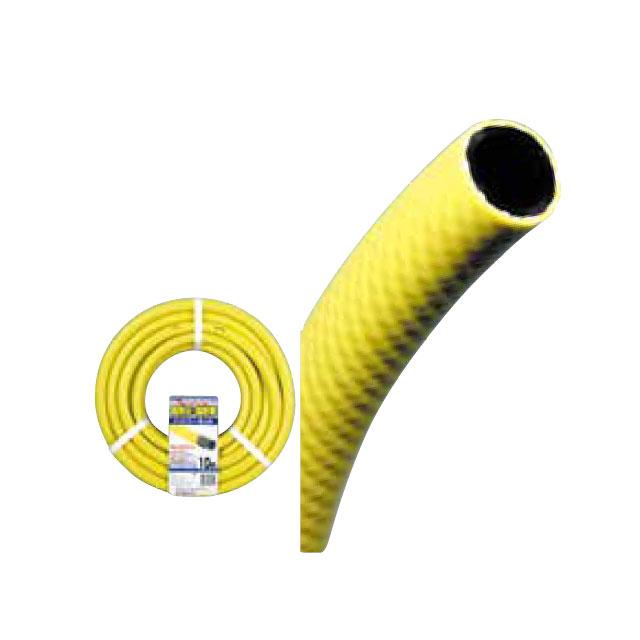 【送料無料】散水ホース 耐圧ハイパーネットホースドラム巻 イエロー 15×20-50m(散水/ホース ガーデニング/ガーデニング ホース/散水ホース/コイル巻き/耐寒ホース/耐圧ホース)