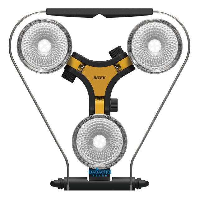 LED×3灯 スーパーワークライト WT-1000(コンセント式 防雨タイプ 電源コード5m 屋内 屋外 自在 AC電源 自由度 照射方向 明るい 3灯 ハイパワー 3灯式 1400lm 防雨タイプ 設置 LED投光器 投光器)