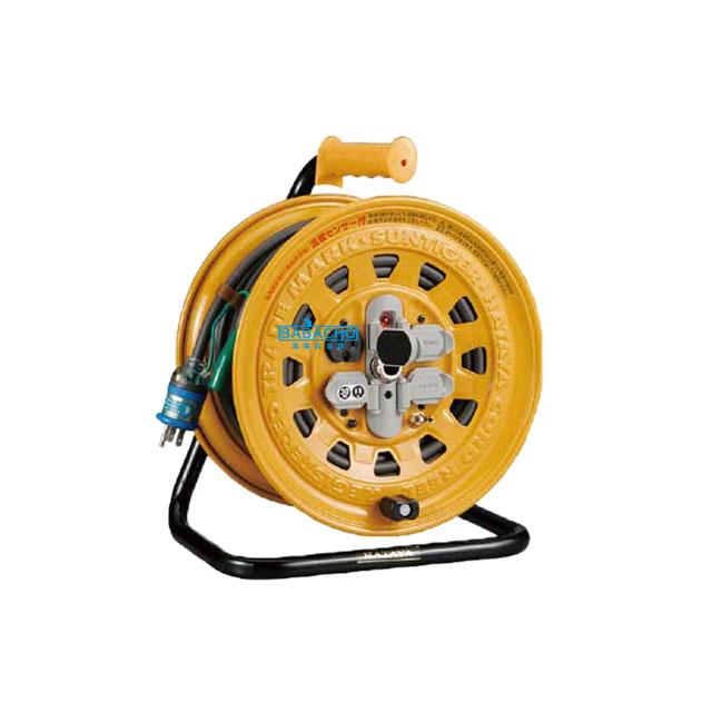 コードリール 温度センサー付き BG-301KXS(電工ドラム 延長コード 電源コード)(延長コード 電源コードリール 延長コードリール)