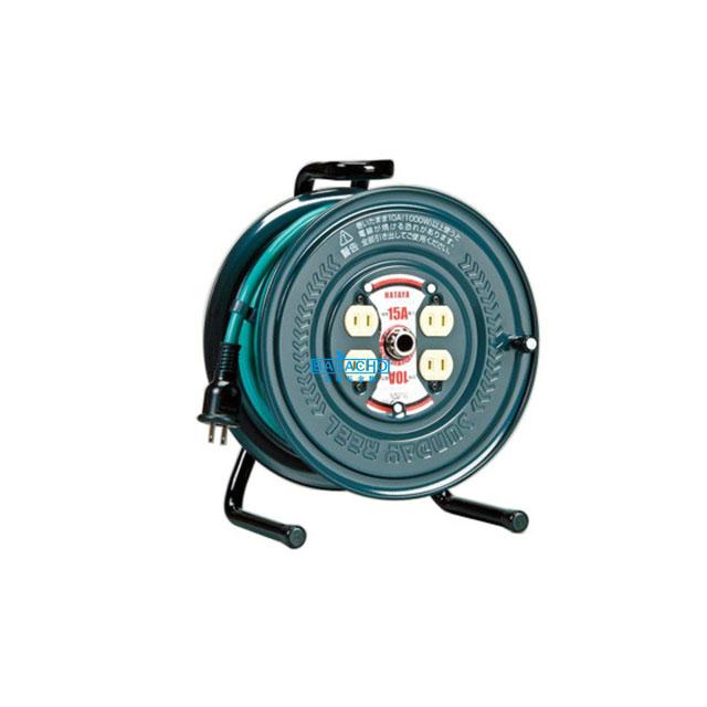 【ハタヤ】アッパーリール(極太ケーブル仕様)PS-20 20m(電工ドラム 延長コード 電源コード)(延長コード 電源コードリール 延長コードリール)