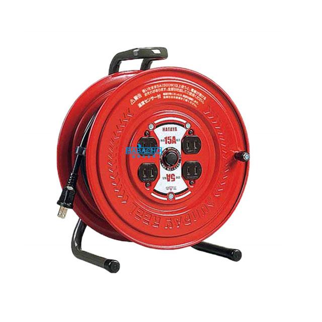 コードリール 温度センサー付き S-30S(電工ドラム 延長コード 電源コード)(延長コード 電源コードリール 延長コードリール)
