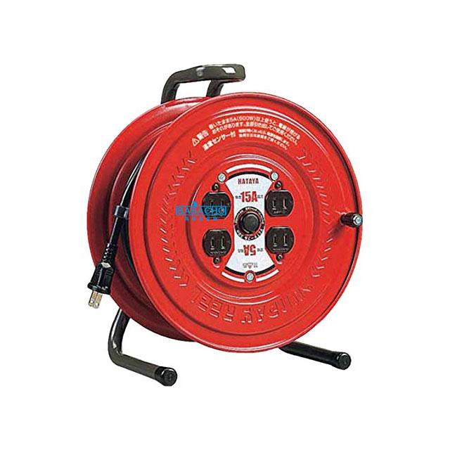 コードリール 温度センサー付き GS-30S(電工ドラム 延長コード 電源コード)(延長コード 電源コードリール 延長コードリール)