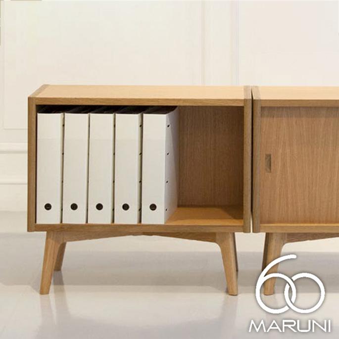 コンビネーション オープンシェルフ63(Combination Open Shelf 63) ナチュラル(Natural) マルニ60(MARUNI60) ロクマルビジョン(60VISION) ナガオカケンメイ