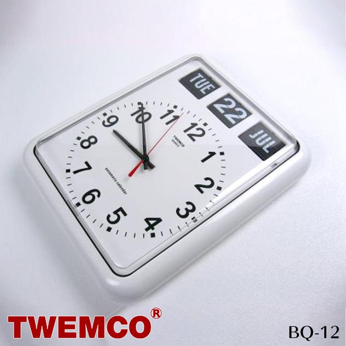 トゥエンコ TWEMCO ウォールクロック WALL CLOCK BQ-12 掛け時計 幅30.5cm パタパタクロック 時計 かけ時計 アナログ時計 時計 クロック デジタル表示 イギリス ビンテージ 北欧 モダン カジュアル レトロ