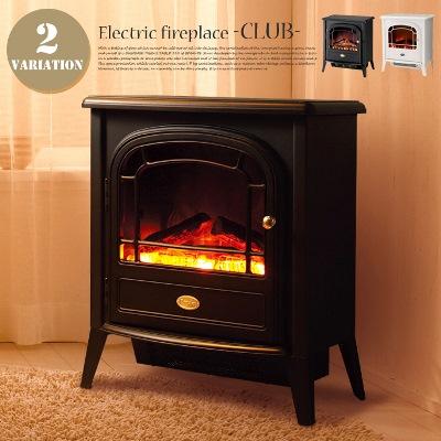 ポータブル型電気暖炉・ストーブ 暖房器具ヒーター クラブ(Club) CLB20 ディンプレックス(Dimplex) カラー(ブラック・ホワイト) 送料無料