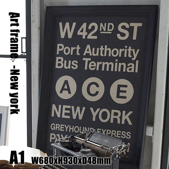 アートワークスタジオ ARTWORKSTUDIO Art Frame New york(アートフレーム ニューヨーク) A1 size 黒フレーム TR-4199(NY) 送料無料:B-CASA