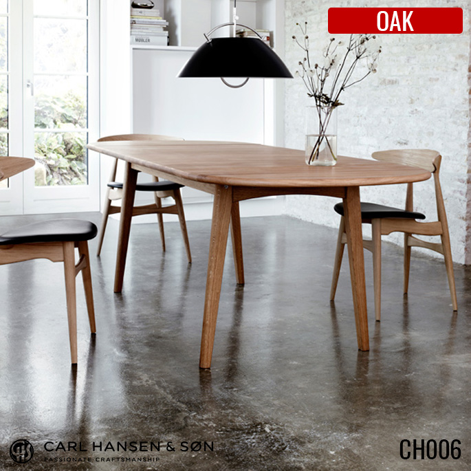CH006 ダイニングテーブル OAK(オーク) HANS J WEGNER(ハンス・J・ウェグナー) CARL HANSEN & SON(カールハンセン&サン) 送料無料