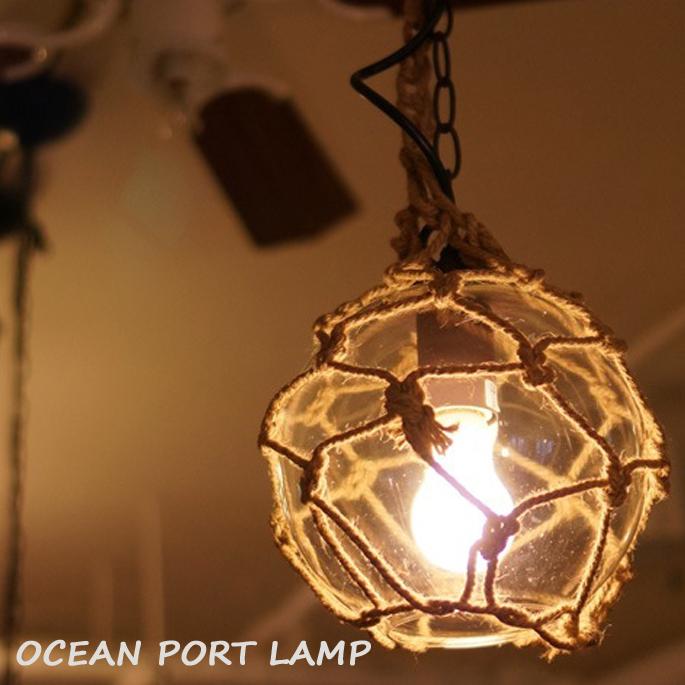 ハモサ HERMOSA OCEAN PORT LAMP(オーシャンポートランプ) GS-002 CR ペンダントライト 送料無料