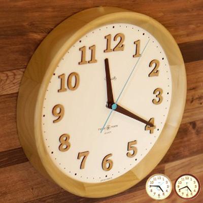 OXNARD WALL CLOCK(オックスナードウォールクロック) 置き・掛け兼用時計 TSI-028・TSI-029 日本製 全2カラー(NATURAL/BROWN)