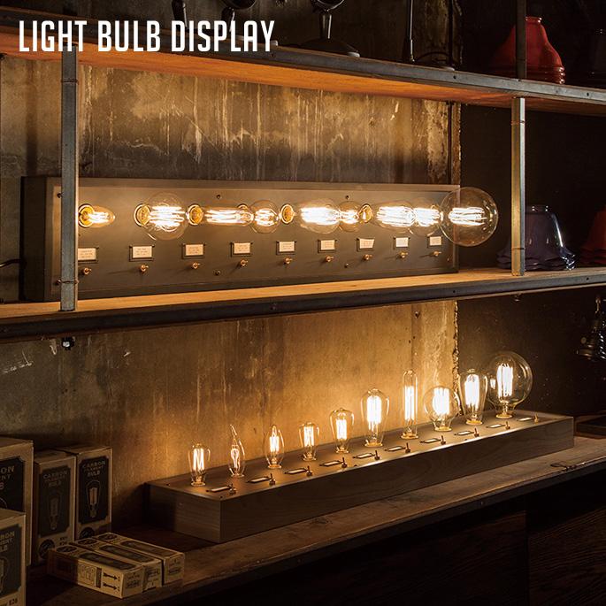 アートワークスタジオ ARTWORKSTUDIO ライトバルブディスプレイ(Light bulb display) BU-1001・BU-1002 バリエーション(E17×5-E26×5・E26×9) 送料無料
