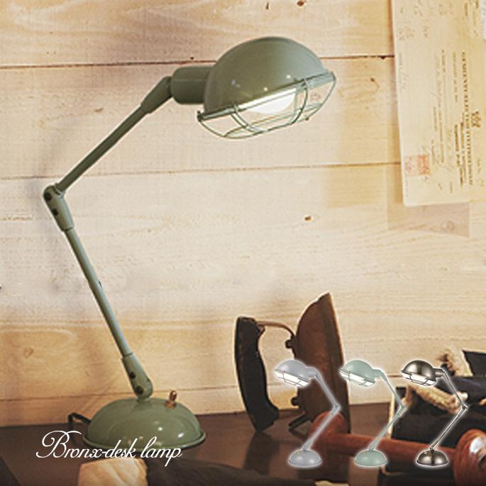 アートワークスタジオ ARTWORKSTUDIO ブロンクスデスクランプ Bronx-desk lamp AW-0348 クローム ゴールド グリーン グレー ヴィンテージ 間接照明 インダストリアル アメリカンスタイル 西海岸テイスト【あす楽】 【送料無料】