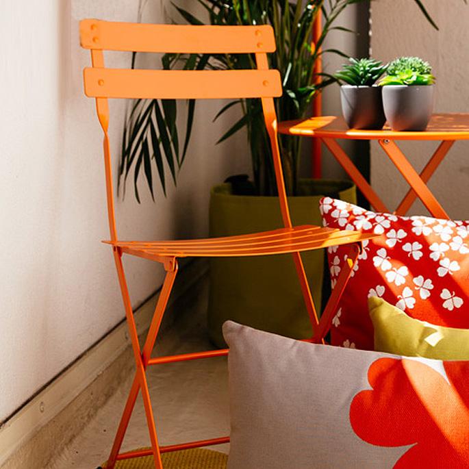 Bistro(ビストロ) Metal Chair(メタルチェア) ガーデンチェア Fermob(フェルモブ) オプションカラー11色 送料無料 デザインインテリア