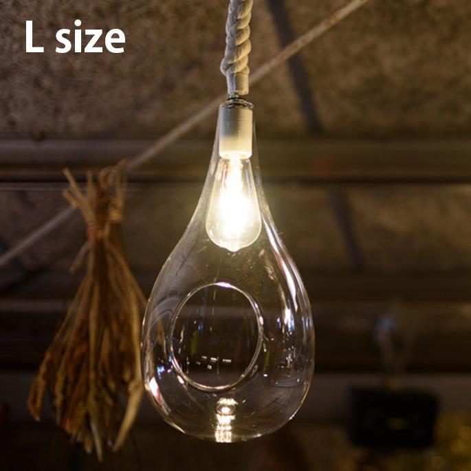 ペンダントライト ボタニックハンギングライトL Botanic Hanging Light L APE-020WH ビカーサ BICASA LED ハンキングテラリウム ガラス 植物 カフェ風 レストラン【送料無料】
