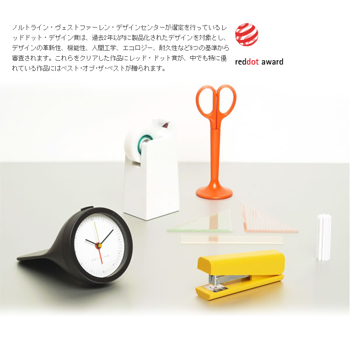 Use tape dispenser and fashionable! ANYTHING tape cutter (tape dispenser) Michael sodeau (MICHAEL SODEAU) color (white/black/yellow/orange/blue)