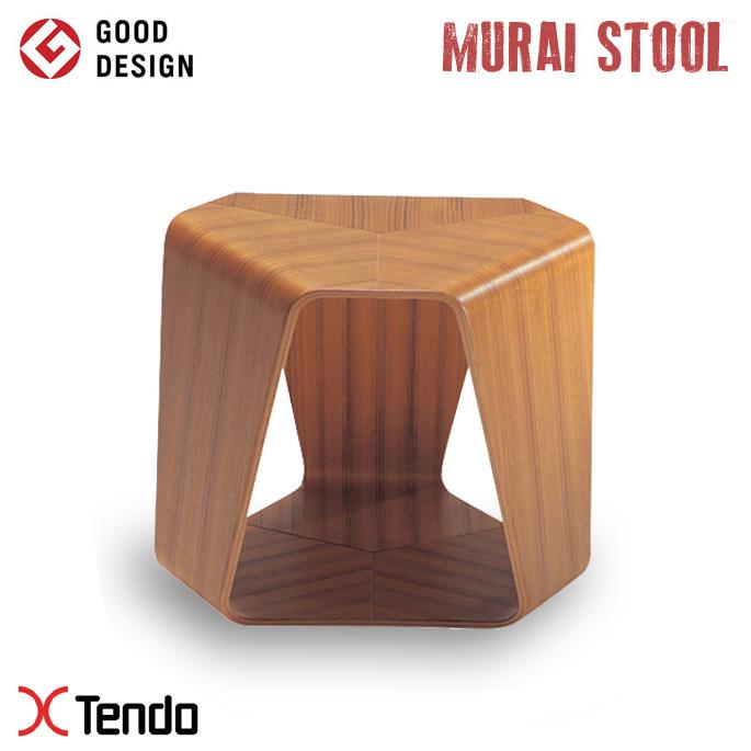 ムライスツール(Murai stool) S-5026TK-NT 1961年 天童木工(Tendo mokko) 田辺 麗子(Reiko Tanabe) 送料無料