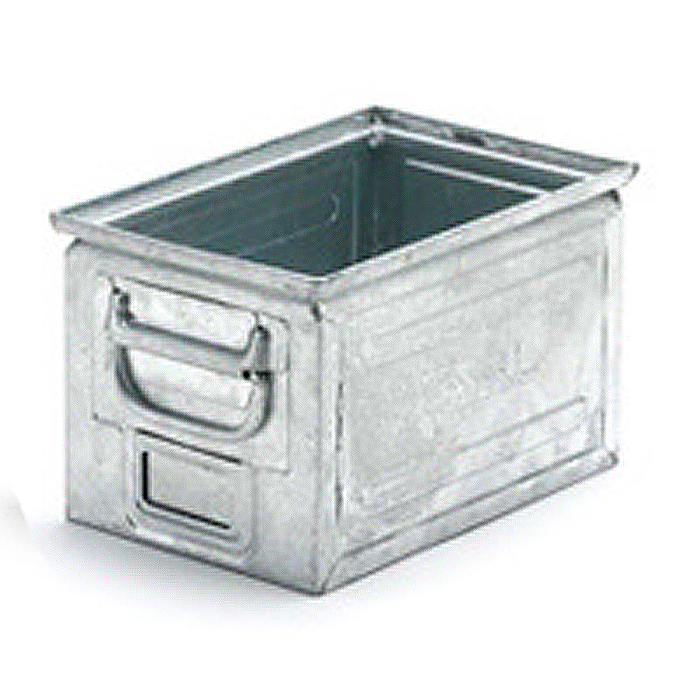 Fami steel box ファミ スチールボックス 12L ガルヴァナイズ 002330 イタリア製