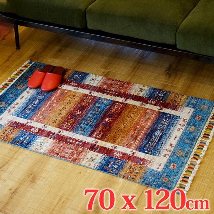 アフガニスタン手織緞通 AF-D1-RUG 70x120cm