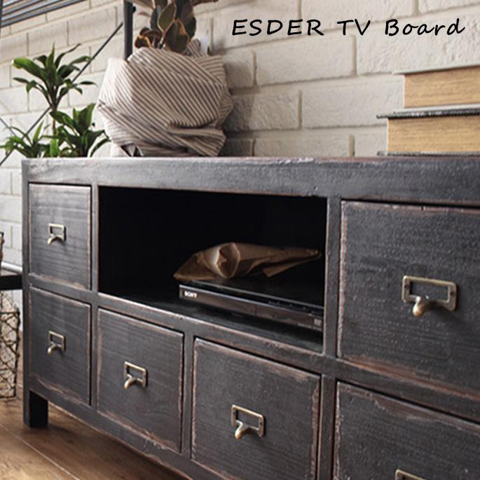 エスデル テレビ ボード ESDER TV board EDR-TVB-001 アデペシュ a depeche スギ TVボード AVボード ナチュラル 北欧 カフェ風 送料無料
