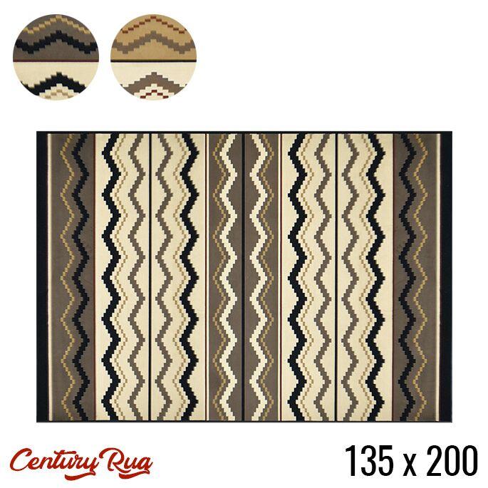 MORIYOSHI センチュリー Century rug 135x200 ラグ 135 マット 絨毯 じゅうたん カーペット モケット織 ホットカーペットカバー対応 水洗い可能 お手入れ簡単 ヴィンテージ レトロ インダストリアル 西海岸 モダン おしゃれ