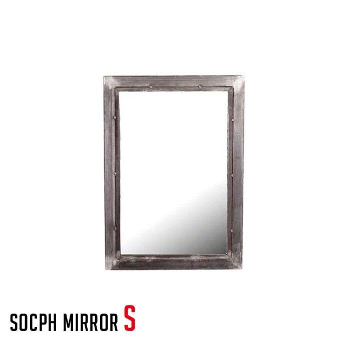 アデペシュ a.depeche 鏡 スチール ソコフ ミラー socph mirror S SCP-MRO-S 西海岸 アメリカンビンテージ 送料無料