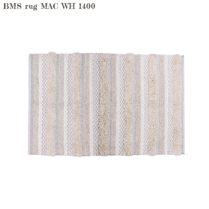 アデペシュ a depeche BMSラグ MAC WH 1400 BMS rug MAC WH 1400 BMS-RUG-MCW-1400 ラグ 幅1400mm 絨毯 カーペット マット インド ナチュラル 送料無料