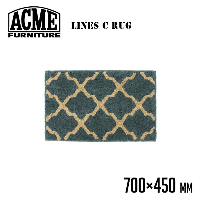 アクメ ファニチャー ACME Furniture ラインズ ラグ 700×450 LINES RUG 700×450 15013970007770 マット 幅700mm マット 玄関マット 室内 北欧 レトロ ビンテージ おしゃれ リビング ダイニング