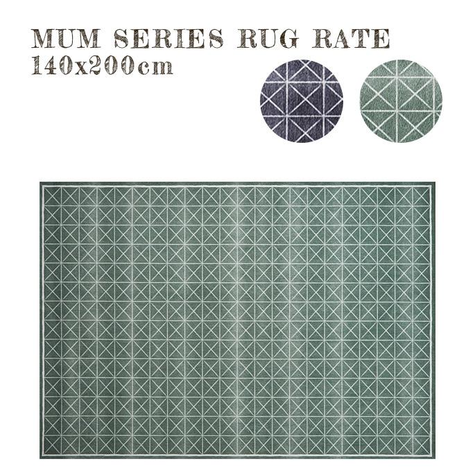 魅力的な価格 MUM RUG RATE 140x200cm ラグ ラグ 絨毯 じゅうたん カーペット 国産 不織布貼り水洗い可能 ホットカーペットカバー対応 インテリア 北欧 おしゃれ シンプル キカ柄 インクジェットプリント モダン, アグイチョウ 491fb35f