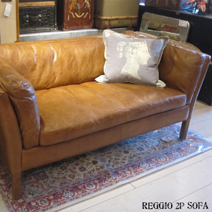 Reggio 2 P Sofa Couch Timothy Oulton By Halo Olson Haro Old Saddle Nut Nuts