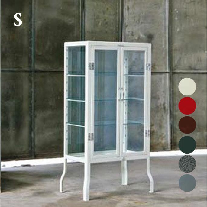 レトロ感漂うオシャレキャビネット♪ Doctor cabinet S 100-150 キャビネット DULTON'S(ダルトン) 全6色(Ivory/Red/Dgreen/Brown/HammertoneGray/Raw) 送料無料