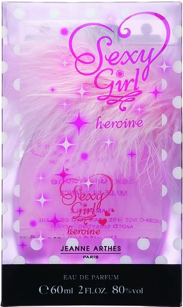 ジャンヌアルテスセクシー girl heroine (NEW) 60 ml EDP Eau de Parfum spray for perfume ladies