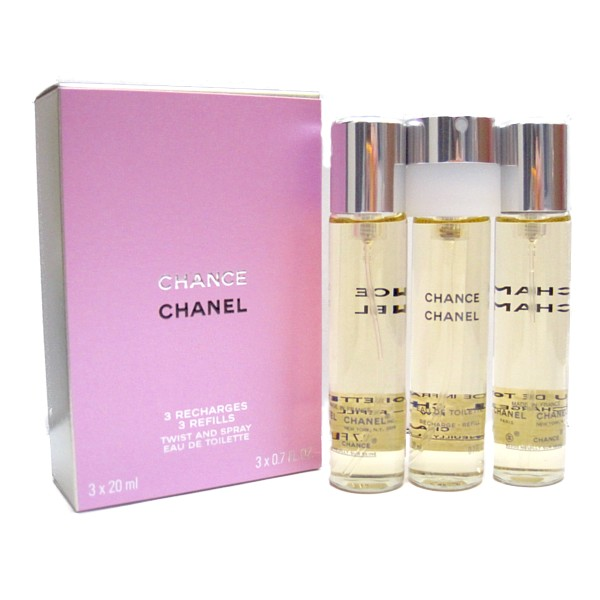 シャネル CHANEL  チャンス ツイストセット(レフィル)20ml×3 【あす楽対応】【送料無料】香水 レディース