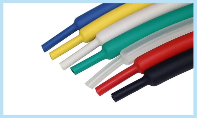 3:1に収縮する高収縮チューブです 未使用品 収縮率3:1 φ12.7熱収縮チューブLDDQ赤 黒 青 トレンド 黄 透明チューブ10cmあたり70円 白 緑