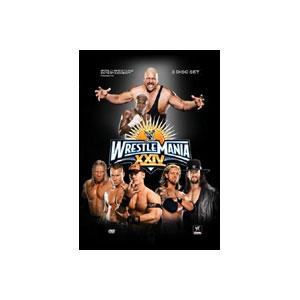 WWE レッスルマニア24 DVD