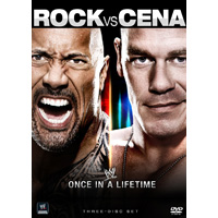 WWE ロック vs. ジョン・シナ - ワンス・イン・ア・ライフタイム DVD