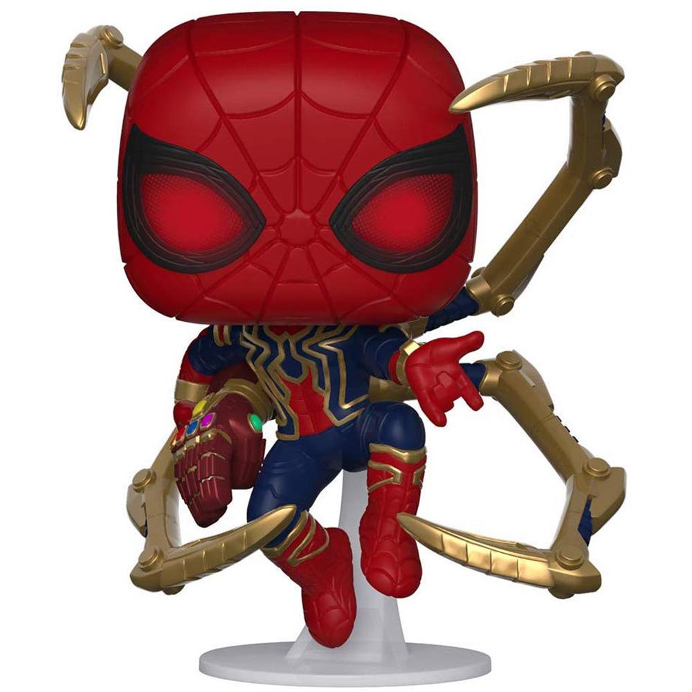 【MARVELグッズ/映画/アメコミ】 Marvel(マーベル)Avengers: Endgame(アベンジャーズ/エンドゲーム) スパイダーマン/アイアン・スパイダー w/NanoGauntlet FUNKO/ファンコ POP MARVEL VINYL ボブルヘッド