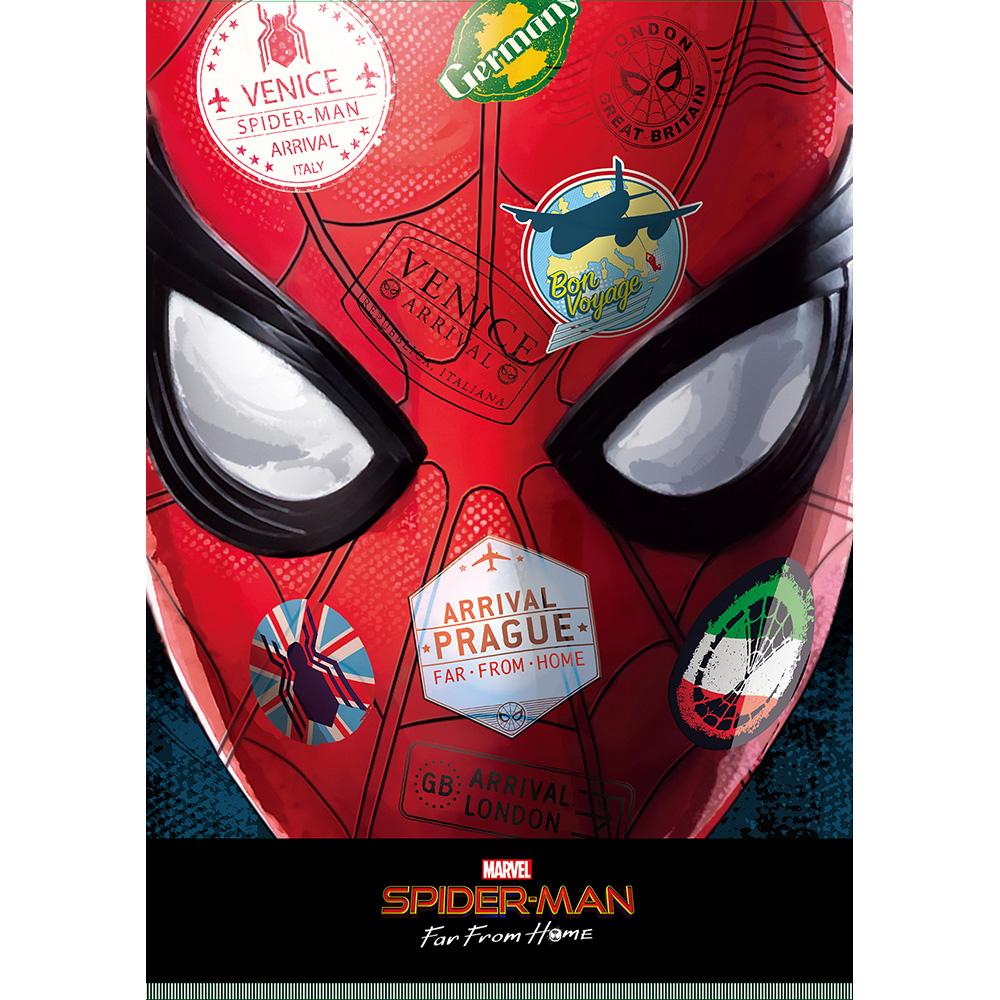 Marvel(マーベル) Spider,Man Far From Home(スパイダーマンファー・フロム・ホーム) Wポケットクリアファイル  [インロック] ホビーショップバックドロップ