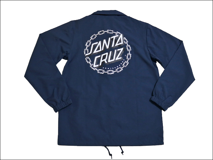 Santa Cruz coaches jacket Maria pattern skeleton SANTA CRUZ PFM Skeleton Coach Windbreaker Jacket ♦ products-44642179 skeleton pattern Maria pattern nylon jackets ♦