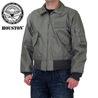 HOUSTON ヒューストン CWU-36/P フライトジャケット  アウター ジャンパー U.S.AIR FORCE ナイロン ミリタリーライトゾーン 日本製 エアーフォース FAKE NOMEX