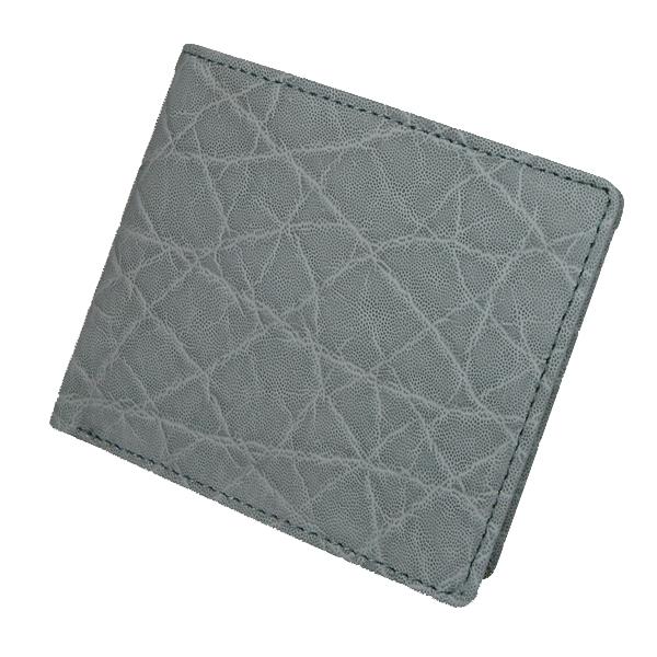 【送料無料】エレファント 象革 札入れ 二つ折り財布 日本製 ※代引き不可